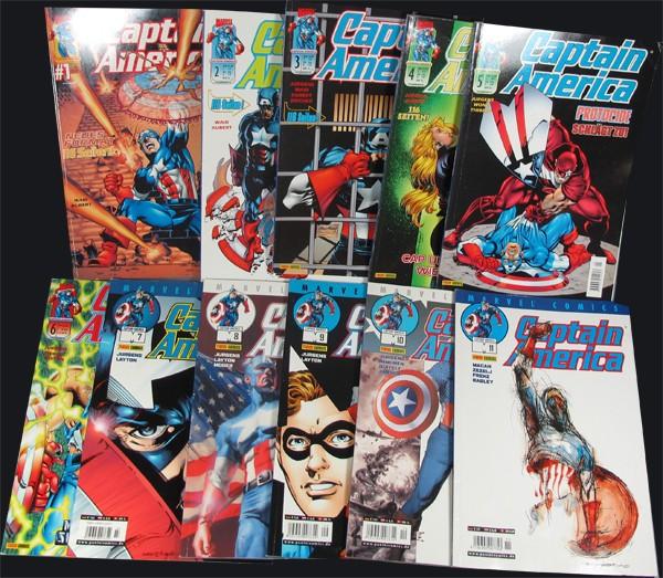 Captain America #1-11