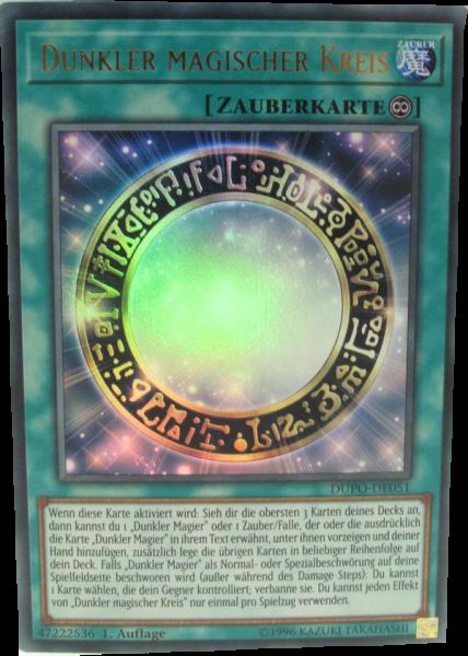 DUPO-DE051 Dunkler magischer Kreis