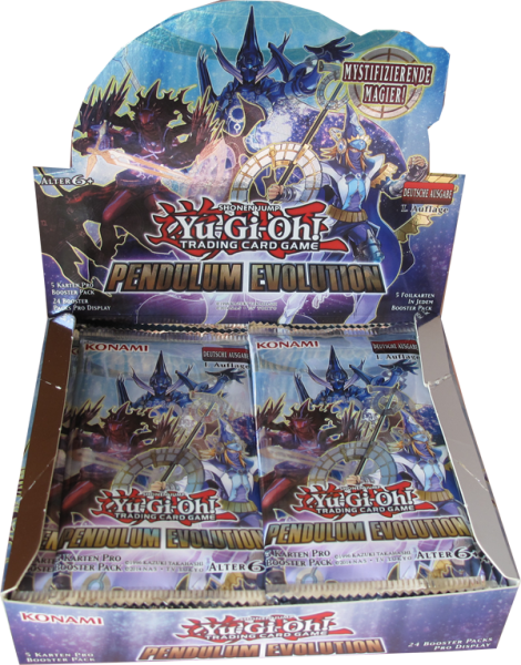 Yu-Gi-Oh! Pendulum Evolution Booster Display