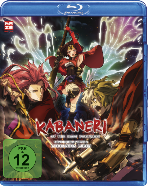Kabaneri of Iron Fortress Vol. 02 Loderndes Leben Blu-ray