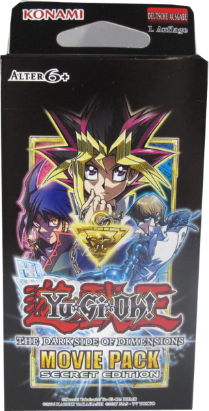 Yu-Gi-Oh! The Dark Side of Dimensions Movie Pack Secret Edtion(Neuauflage)
