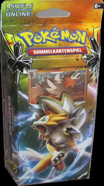 Pokemon Sonne & Mond Grauen der Lichtfinsernis Zwielichtklaue Themendeck