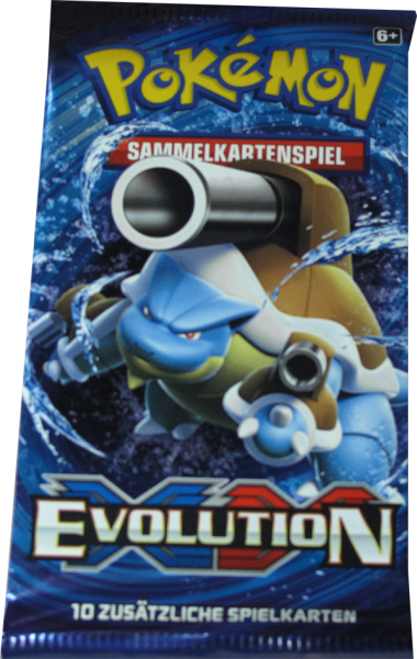 Pokemon XY Evolution Booster deutsch