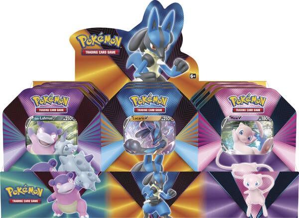 Pokemon Frühjahr 2021 3er Set Tin Box deutsch