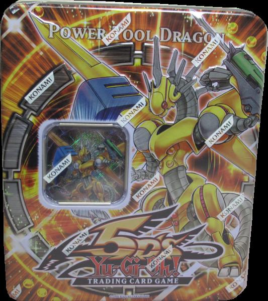 Yu-Gi-Oh! Power Tool Dragon Tin englisch