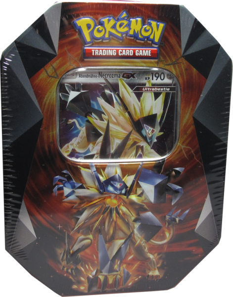 Pokemon Abendmähne-Necrozma GX Tin Box deutsch
