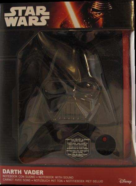 Action Figur Star Wars Darth Vader Notebook with Sound