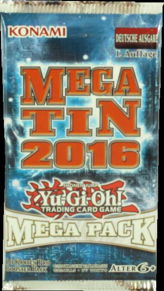 Yu-Gi-Oh! Mega Tin 2016 Booster deutsch