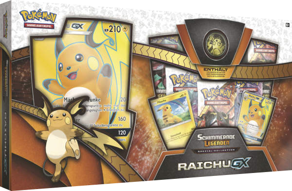 Pokemon Schimmernde Legenden Raichu GX Kollektion