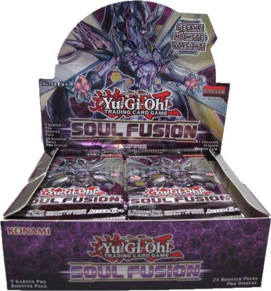 Yu-Gi-Oh! Soul Fusion Booster Display