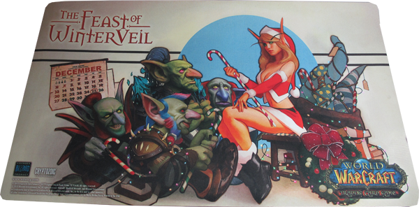 World of Warcraft Playmat The Fest of Winter Veil