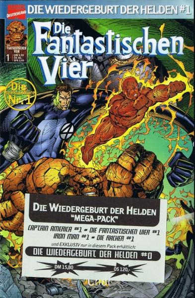 Die Fantastischen Vier Die Wiedergeburt der Helden Mega Pack