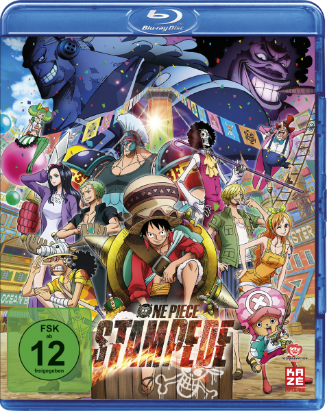 One Piece The Movie 13: Stampede Blu-ray