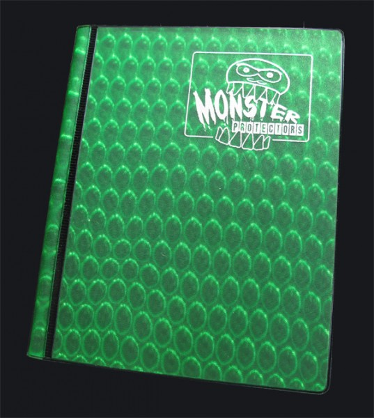 Monster Protection Card Album 2 Pocket grün