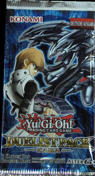 Yu-Gi-Oh! Duelist Pack Kaiba Booster deutsch