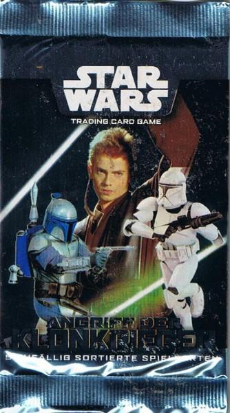 Star Wars Angriff der Klonkrieger Booster