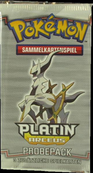 Pokemon Platin Arceus Probepack