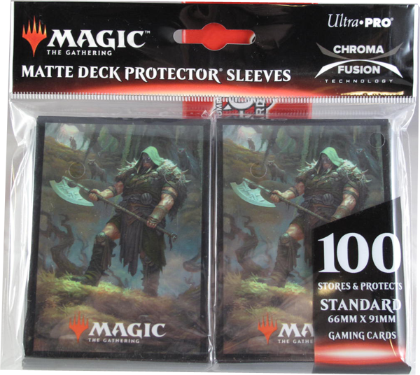 Ultra Pro - Standart - Magic Throne of Eldraine V3 - 100 Hüllen - Deck Protector Sleeves