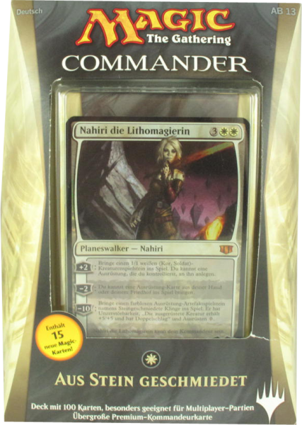 Magic Commander Deck 2014: Aus Stein geschmiedet