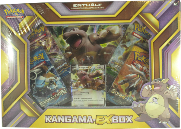 Pokemon Kangama-EX Box