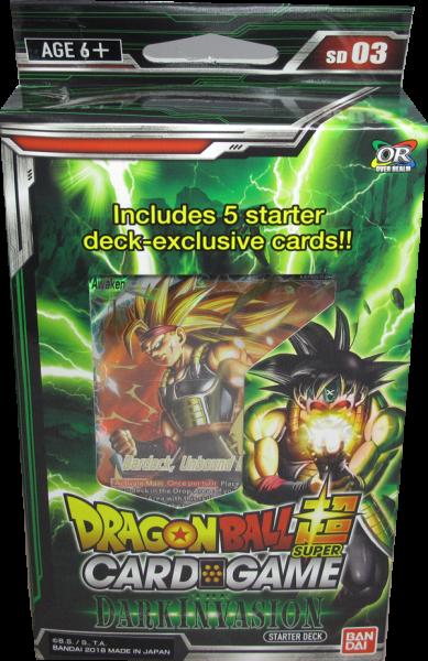 Dragonball Super Dark Invasion Starter Deck