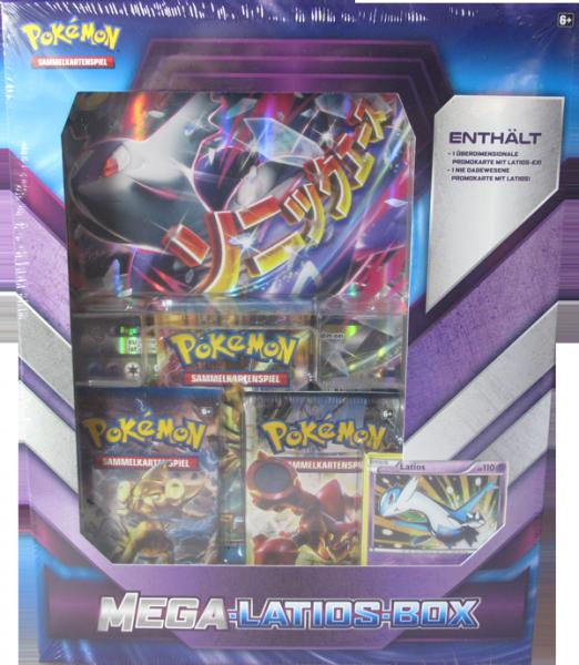 Pokemon Mega-Latios Box