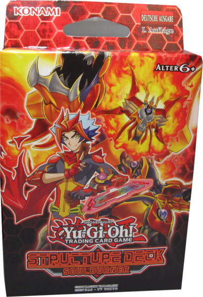 Yu-Gi-Oh! Soul Burner Structure Deck (1.Auflage)