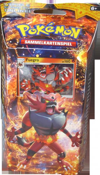 Pokemon Sonne & Mond Themendeck Flammenwut