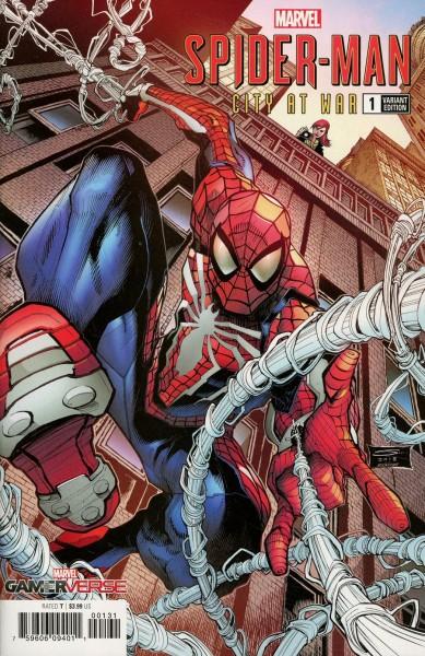 MARVELS SPIDER-MAN CITY AT WAR #1 (OF 6) SANDOVAL VAR (1:10)