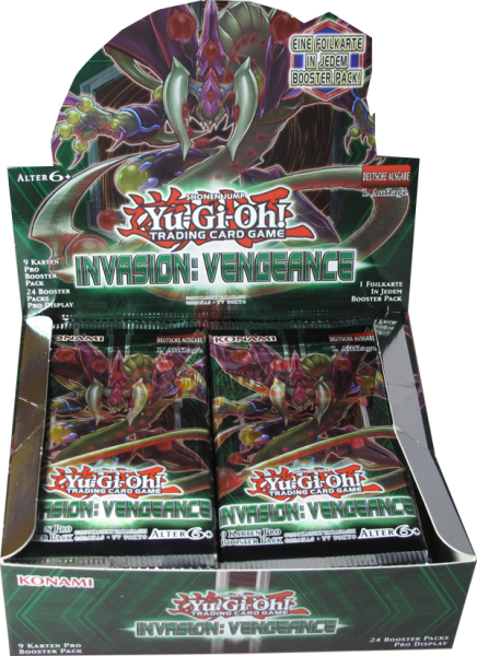 Yu-Gi-Oh! Invasion: Vengeance Booster Display