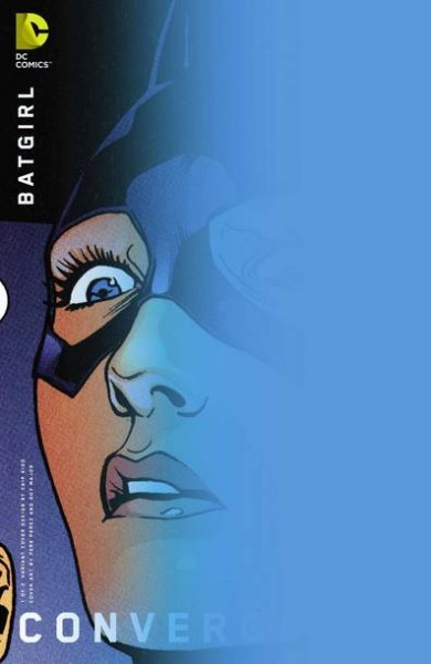 Convergence Batgirl #1 Chipp Kidd Variant Cover
