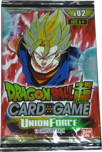 Dragonball Super Union Force Booster englisch