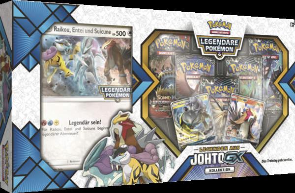 Pokemon Johto-GX Legenden Kollektion