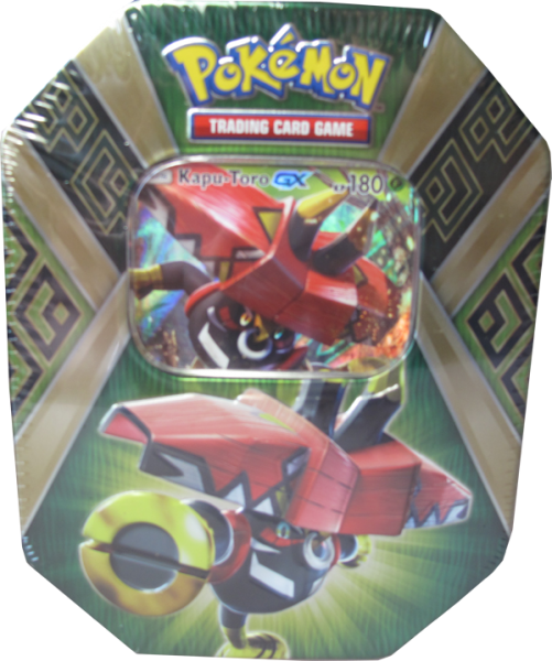 Pokemon Kapu-Toro GX Tin Box deutsch