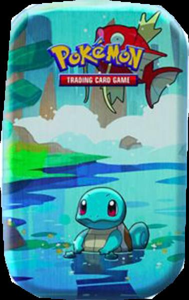 Pokemon Kanto-Freunde Shiggy Mini-Tin