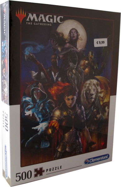 500 Teile Puzzle - Magic the Gathering Planeswalker