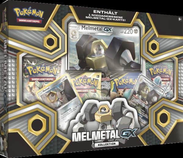 Pokemon Melmetal-GX Kollektion