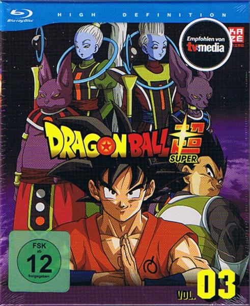 Dragonball Super Vol. 03 Blu-ray