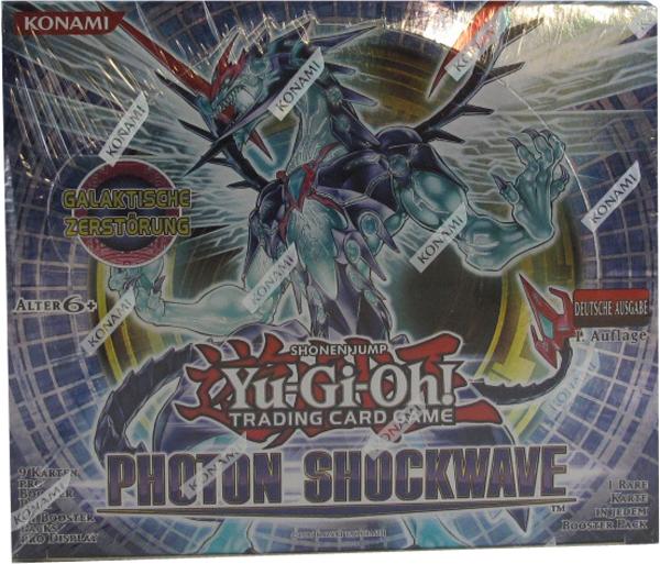 Yu-Gi-Oh! Photon Shockwave Booster Display deutsch