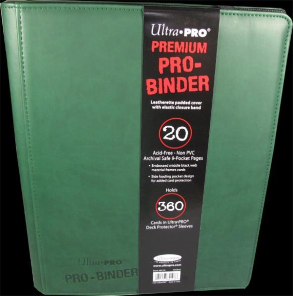 Ultra Pro - Premium Pro Binder - green