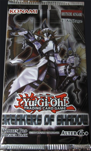 Yu-Gi-Oh! Breakers of Shadow Booster deutsch