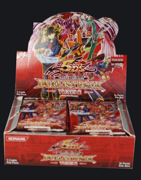 Yu-Gi-Oh! Duelist Pack Yusei 2 Booster Display englisch