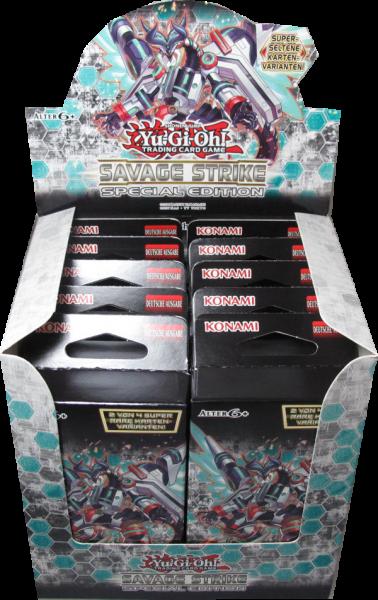 Yu-Gi-Oh! Savage Strike Special Edition Display