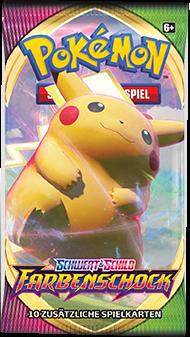 Pokemon Schwert & Schild Farbenschock Booster