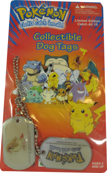 Pokemon Dog Tag Tauboss
