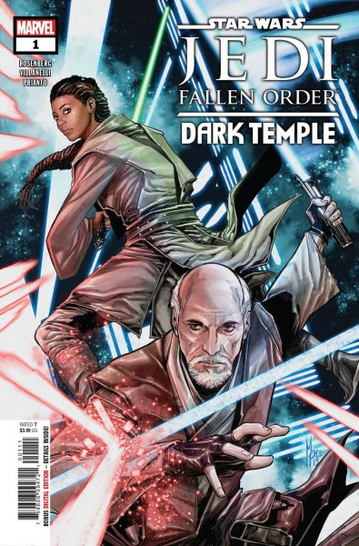 STAR WARS JEDI FALLEN ORDER DARK TEMPLE #1 (OF 5)