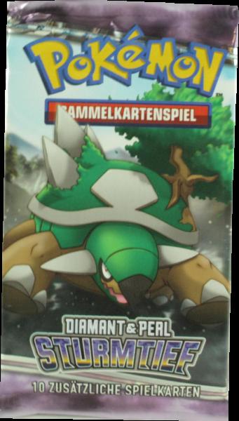 Pokemon Diamant & Perl Sturmtief Booster