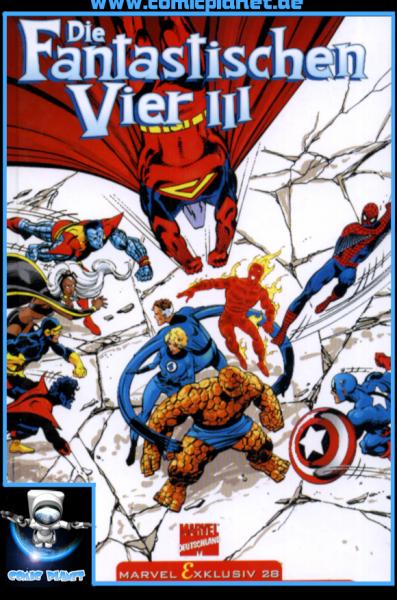 Marvel Exklusiv 28 - Die Fantastischen Vier III - HC