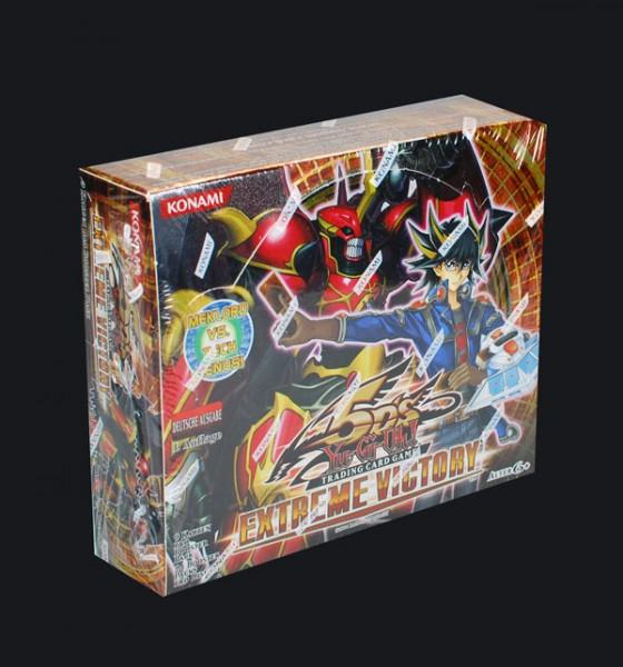 Yu-Gi-Oh! Extreme Victory Booster Display deutsch