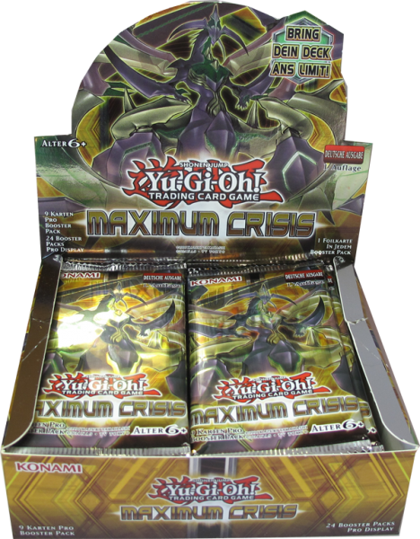 Yu-Gi-Oh! Maximum Crisis Booster Display